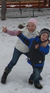 Maria si Stefan_iarna
