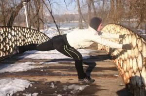 Stretching pe pod