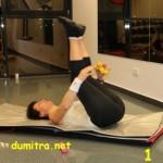 Un exercițiu simplu pentru abdomen