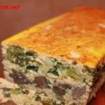 Terină-drob de pui și legume