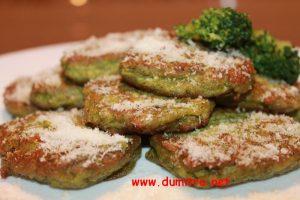 Chiftelute de broccoli cu parmezam2