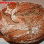 Pâine cu drojdie obținută în casă
